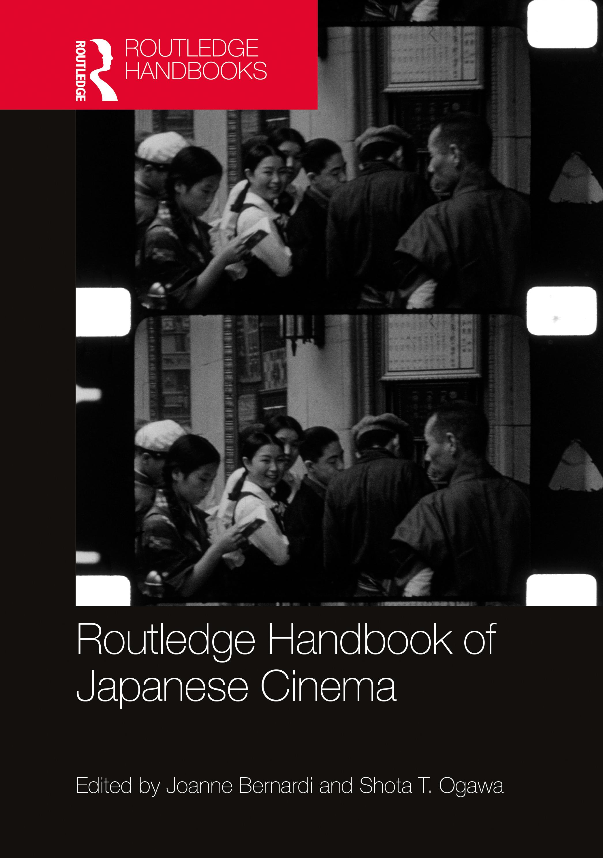 Routledge Handbook of Japanese Cinema book cover