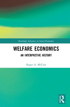 Welfare Economics: An Interpretive History book cover