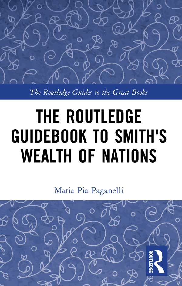The Routledge Guidebook to Smith's Wealth of Nations book cover
