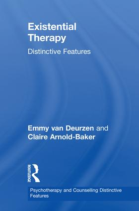 Existential Therapy: Distinctive Features book cover