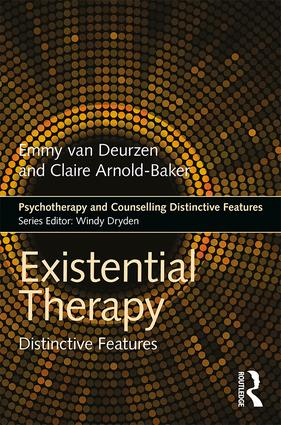 Existential Therapy: Distinctive Features, 1st Edition (Paperback) book cover