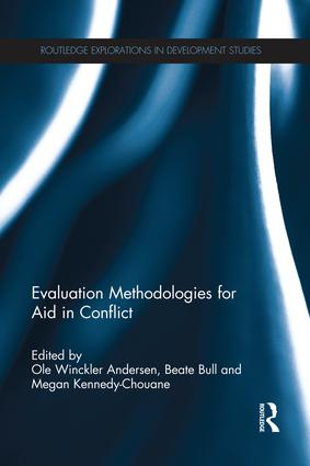 Evaluation Methodologies for Aid in Conflict book cover