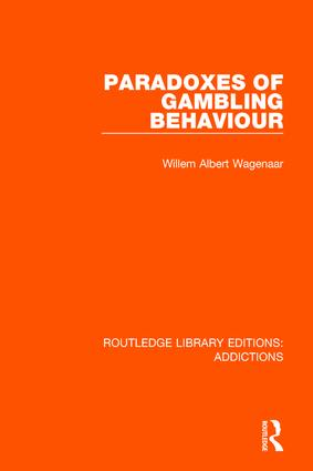 Paradoxes of Gambling Behaviour: 1st Edition (Paperback) book cover