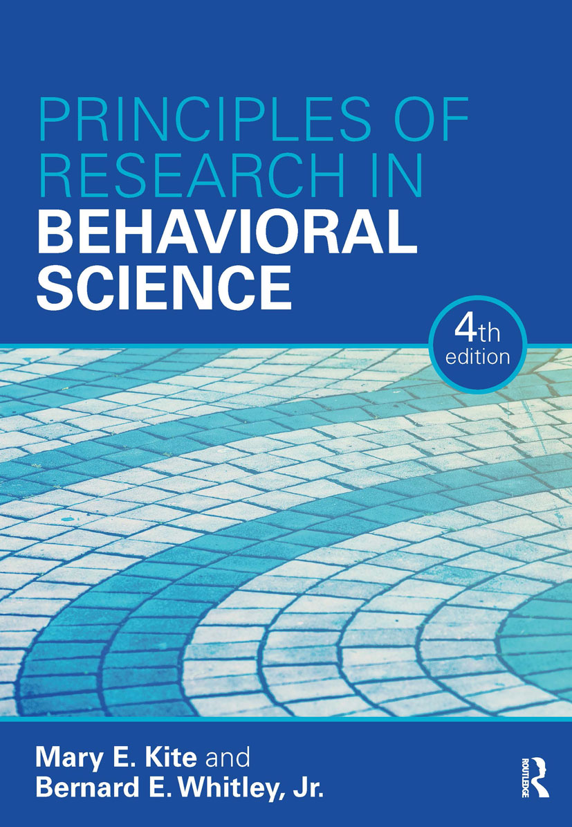 Principles of Research in Behavioral Science: Fourth Edition book cover