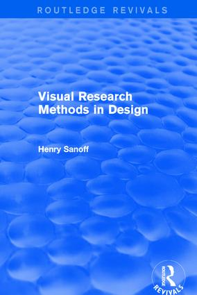 Visual Research Methods in Design (Routledge Revivals) book cover