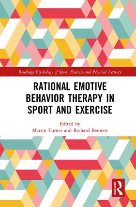 Rational Emotive Behavior Therapy in Sport and Exercise: 1st Edition (Hardback) book cover