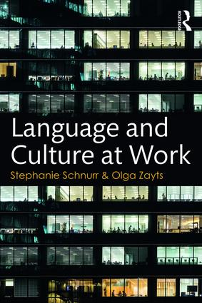 Language and Culture at Work (Paperback) book cover
