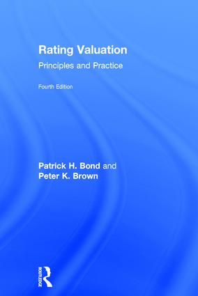 Rating Valuation: Principles and Practice book cover