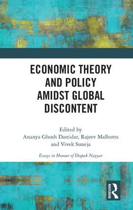 Economic Theory and Policy amidst Global Discontent book cover