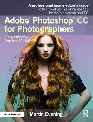 Adobe Photoshop CC for Photographers (Paperback) book cover