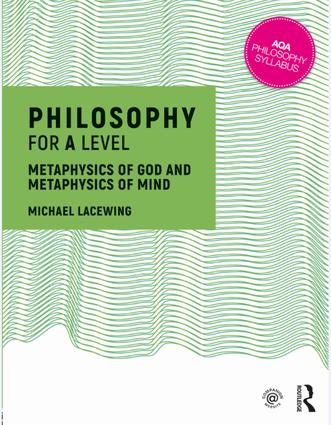 Philosophy for A Level: Metaphysics of God and Metaphysics of Mind, 1st Edition (Paperback) book cover
