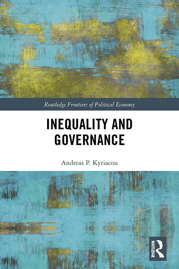 Inequality and Governance: 1st Edition (Hardback) book cover