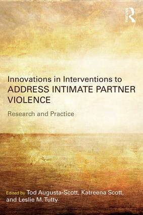 Innovations in Interventions to Address Intimate Partner Violence (Paperback) book cover