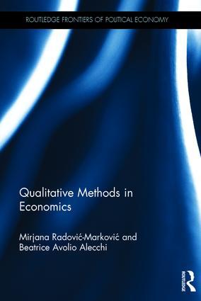 Qualitative Methods in Economics book cover