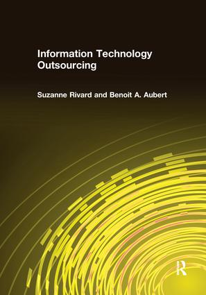 Information Technology Outsourcing: 1st Edition (Paperback) book cover