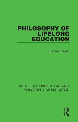 Philosophy of Lifelong Education book cover