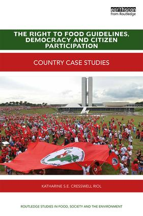 The Right to Food Guidelines, Democracy and Citizen Participation: Country case studies book cover