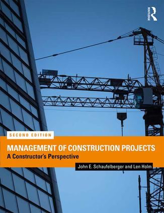 Management of Construction Projects: A Constructor's Perspective book cover