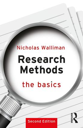 Research Methods: The Basics: 2nd edition, 2nd Edition (Paperback) book cover