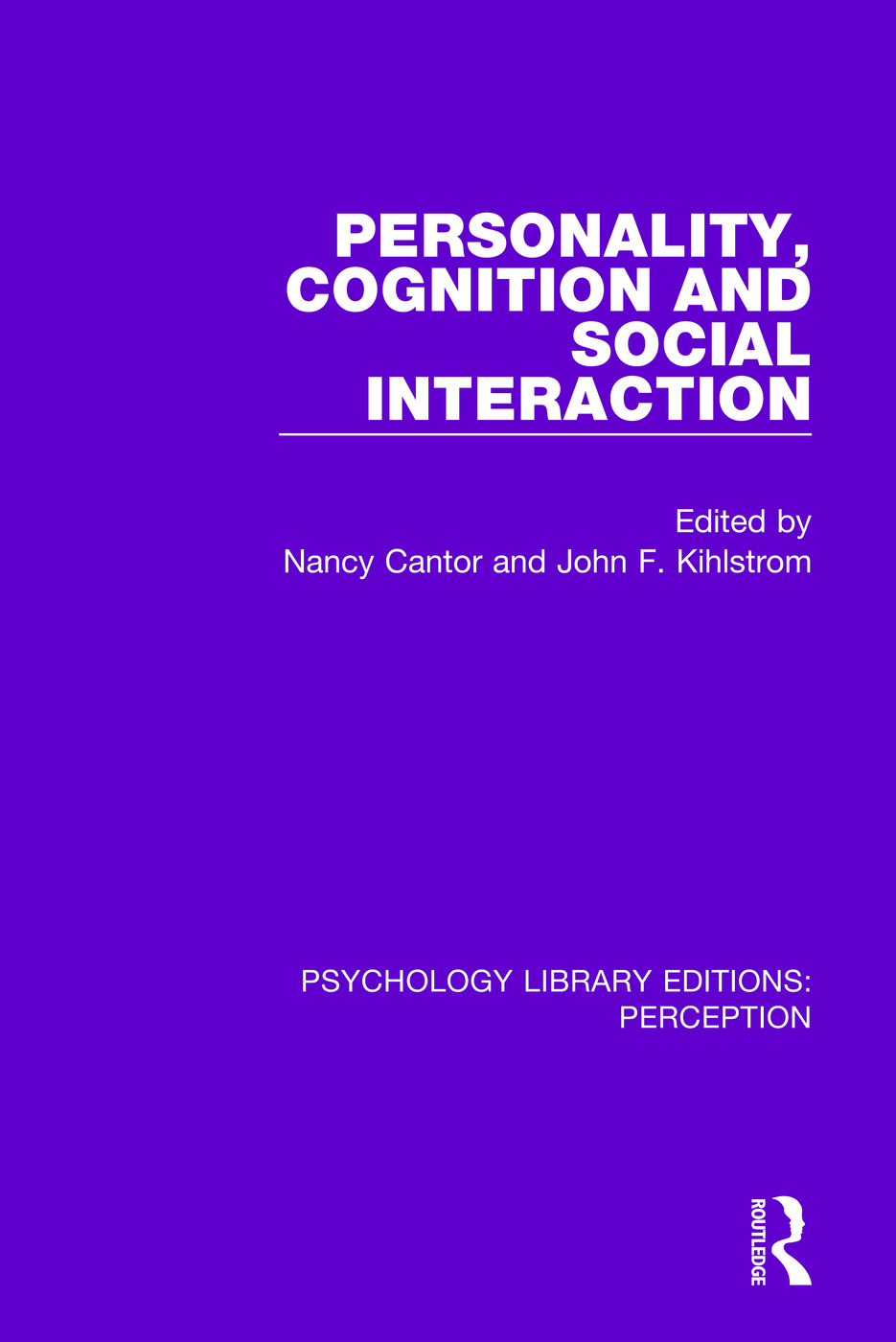 Personality, Cognition and Social Interaction: 1st Edition (Paperback) book cover