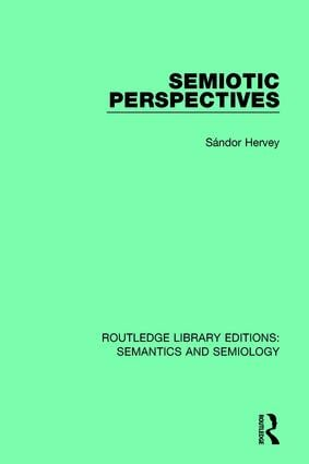 Semiotic Perspectives book cover