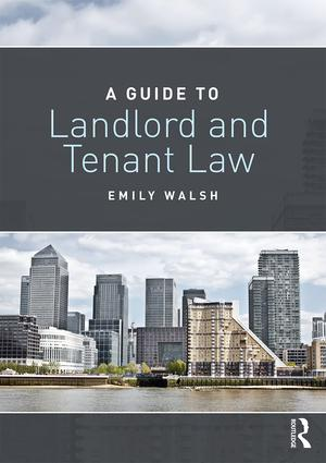 A Guide to Landlord and Tenant Law book cover