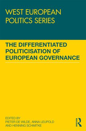 The Differentiated Politicisation of European Governance book cover