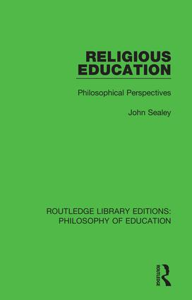 Religious Education: Philosophical Perspectives book cover