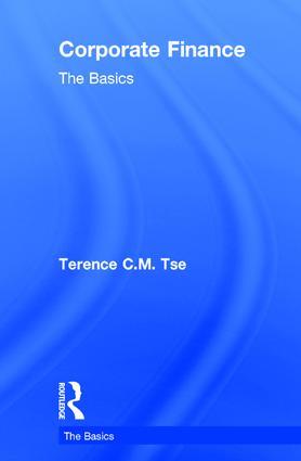 Corporate Finance: The Basics: 1st Edition (Hardback) book cover