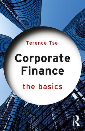 Corporate Finance: The Basics: 1st Edition (Paperback) book cover