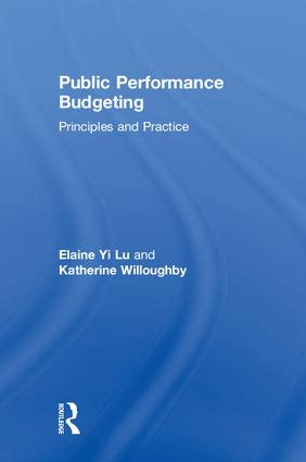 Public Performance Budgeting: Principles and Practice book cover