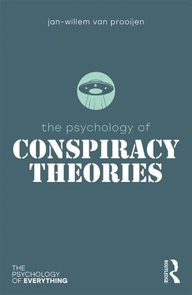 The Psychology of Conspiracy Theories (Paperback) book cover