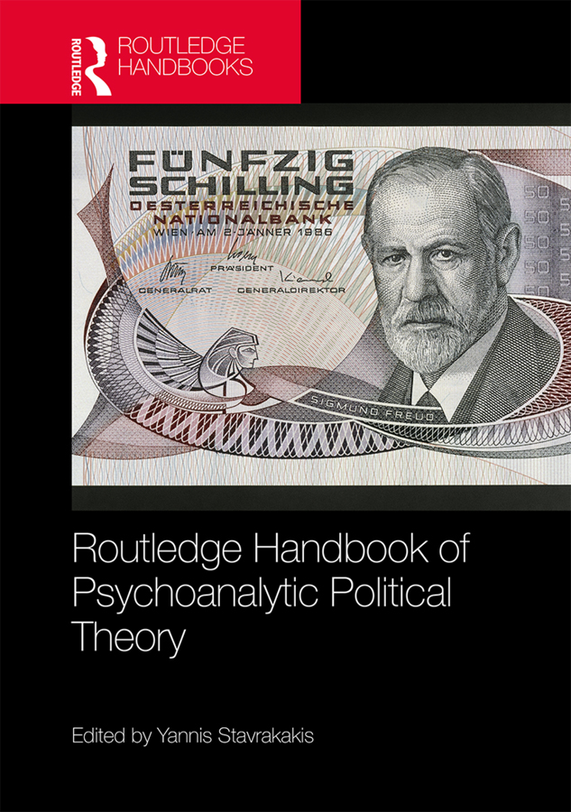 Routledge Handbook of Psychoanalytic Political Theory book cover
