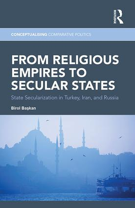 From Religious Empires to Secular States: State Secularization in Turkey, Iran, and Russia book cover