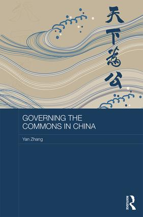 Governing the Commons in China book cover