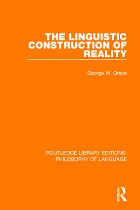 The Linguistic Construction of Reality book cover