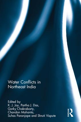 Water Conflicts in Northeast India (Hardback) book cover
