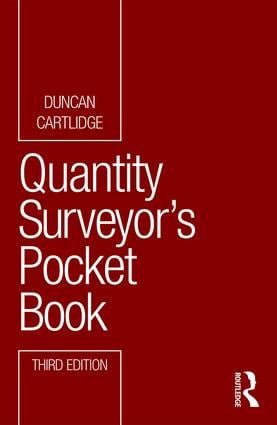 Quantity Surveyor's Pocket Book book cover