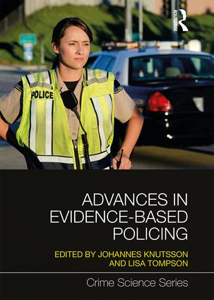 Advances in Evidence-Based Policing: 1st Edition (Hardback) book cover