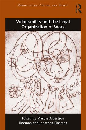 Vulnerability and the Legal Organization of Work book cover