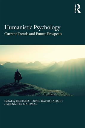 Humanistic Psychology: Current Trends and Future Prospects (Paperback) book cover