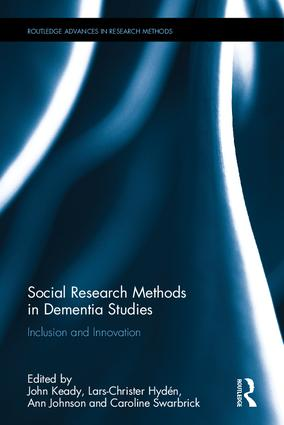 Social Research Methods in Dementia Studies: Inclusion and Innovation book cover