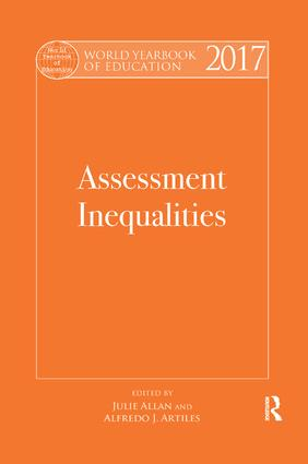 World Yearbook of Education 2017: Assessment Inequalities (Paperback) book cover