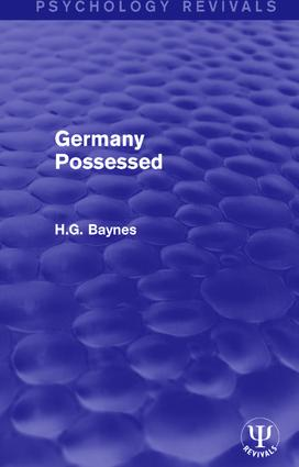 Germany Possessed book cover