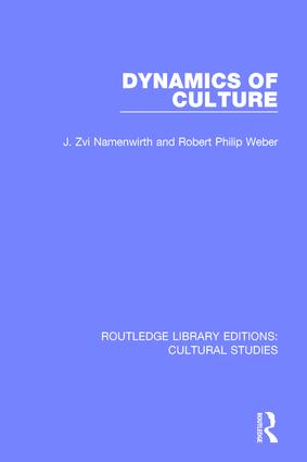 Dynamics of Culture book cover