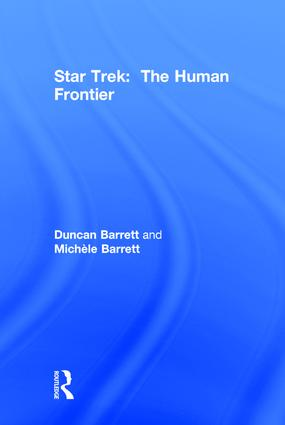 Star Trek: The Human Frontier, 2nd Edition (Hardback) book cover