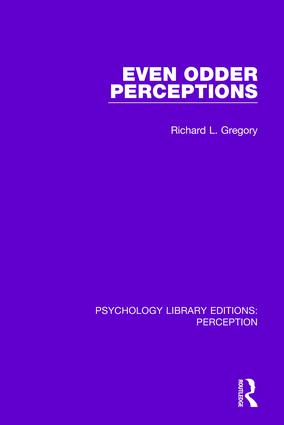 Even Odder Perceptions: 1st Edition (Paperback) book cover