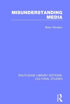 Misunderstanding Media book cover