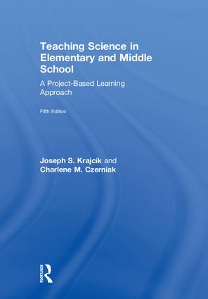 Teaching Science in Elementary and Middle School: A Project-Based Learning Approach, 5th Edition (Hardback) book cover