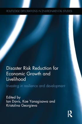 Disaster Risk Reduction for Economic Growth and Livelihood: Investing in Resilience and Development book cover